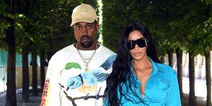 Kanye West Kim Kardashian West