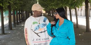 Kanye West went in on Kim Kardashian because she bought the wrong plasters