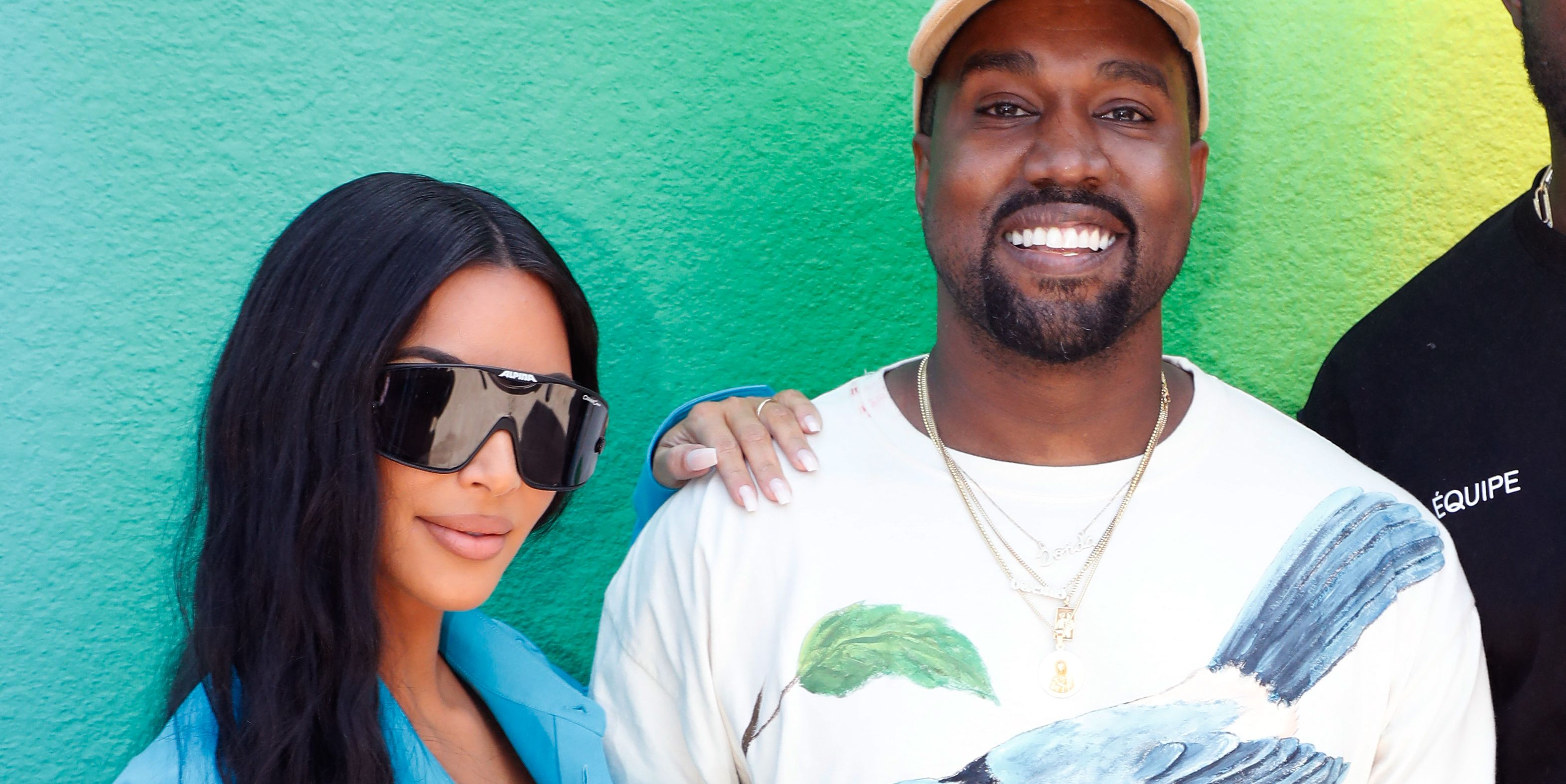 """Kim continued, """"I'm kind of annoyed because I wish he would understand I'm exhausted, like, go get your own Band-Aid,"""" and then explained that Kanye was also upset because he felt like she'd have gotten the right Band-Aid for Saint. """"I was like, 'Oh my God. Are you fighting with Saint?'"""" she said. """"'Is this a thing?'""""The reality star later admitted that she'd been """"fully neglecting"""" Kanye, and ended up surprising him with Band-Aids and sexy lingerie for Valentine's Day, so...guess, yeah. That happened."""