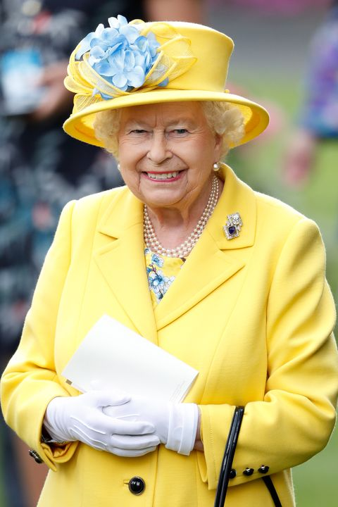 ascot, united kingdom   june 19 embargoed for publication in uk newspapers until 24 hours after create date and time queen elizabeth ii watches her horse fabricate run in the wolferton stakes on day 1 of royal ascot at ascot racecourse on june 19, 2018 in ascot, england photo by max mumbyindigogetty images