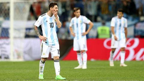 Argentina's lineup