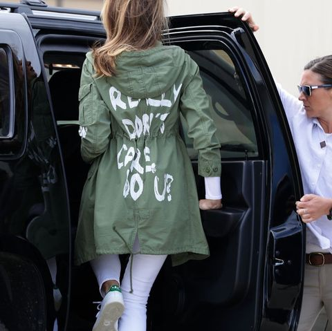 51bcc7668d5 Melania Trump Admitted That She Wore Her