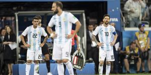 Lionel Messi Gonzalo Higuain Argentina World Cup