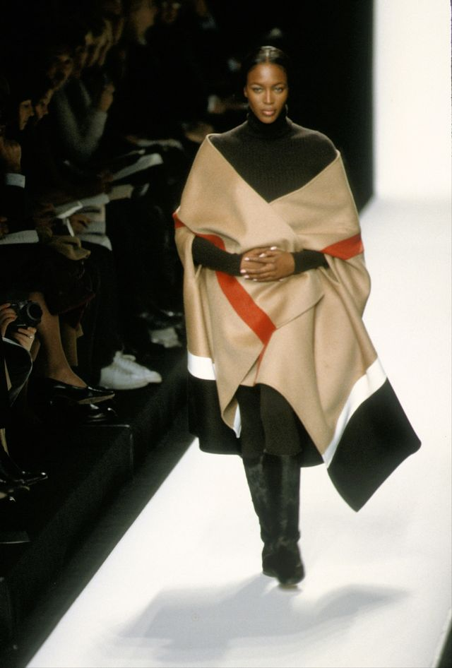 new york   circa 1999 naomi campbell models michael kors during new york fashion week 1999 in new york photo by pl gouldimagesgetty images