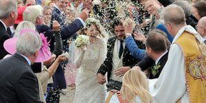 Rose Leslie and Kit Harington wedding