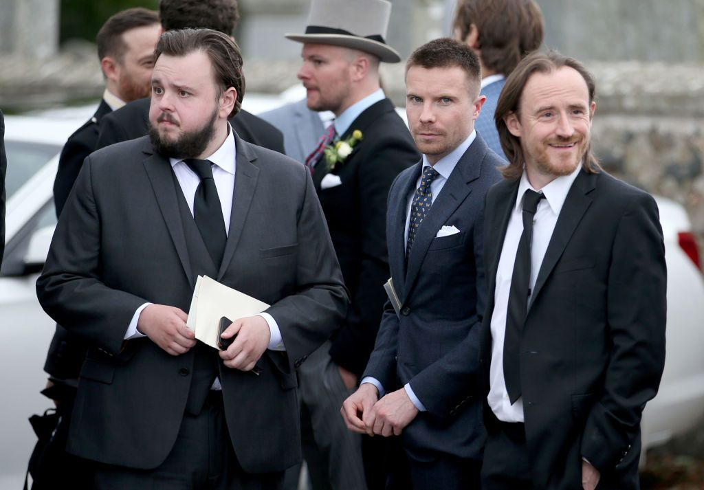 John Bradley, Joe Dempsie, and Ben Crompton