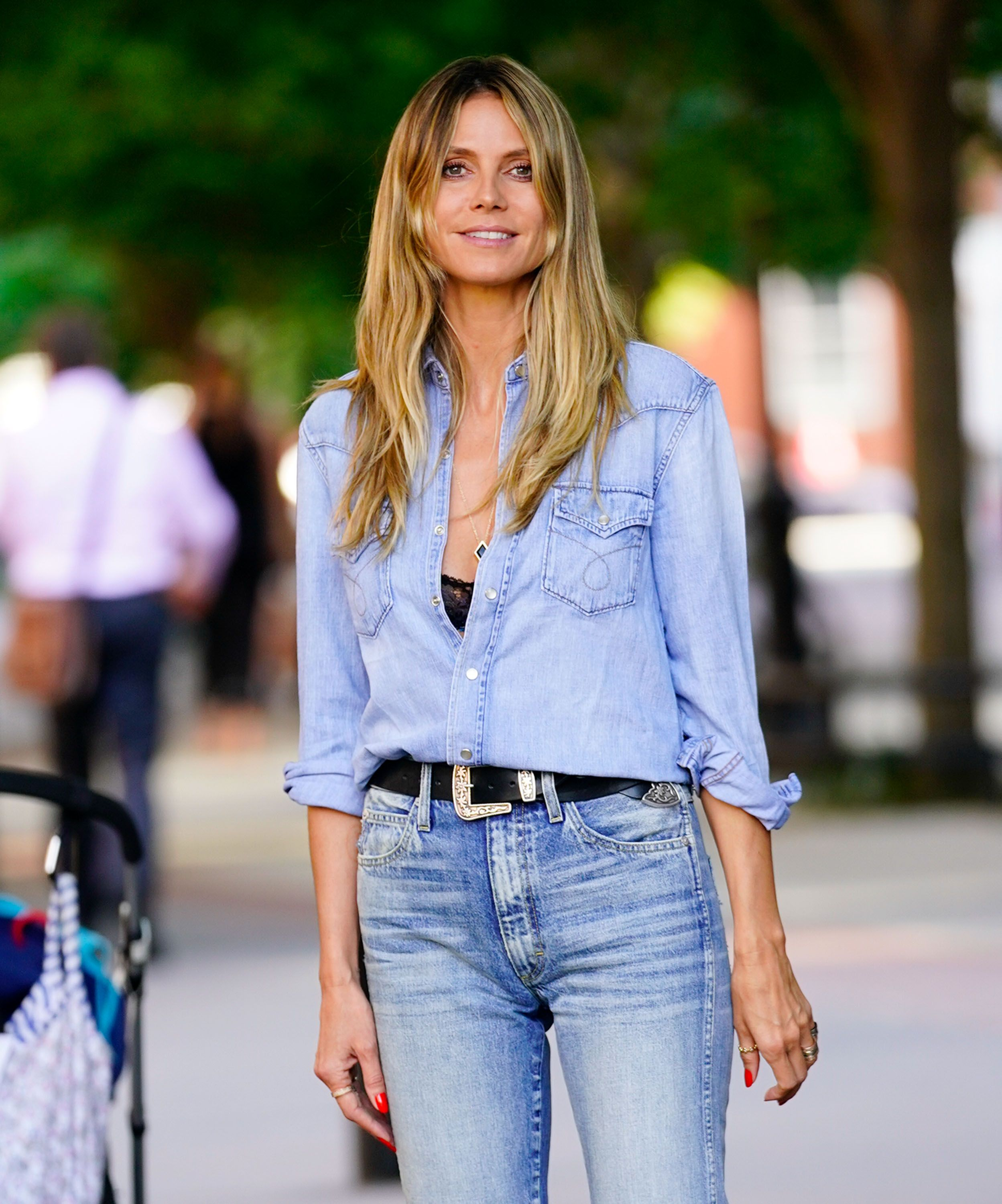Heidi Klum On Her Greatest Beauty Discoveries And Using Baby Shampoo As A Cleanser (Yes, Really)