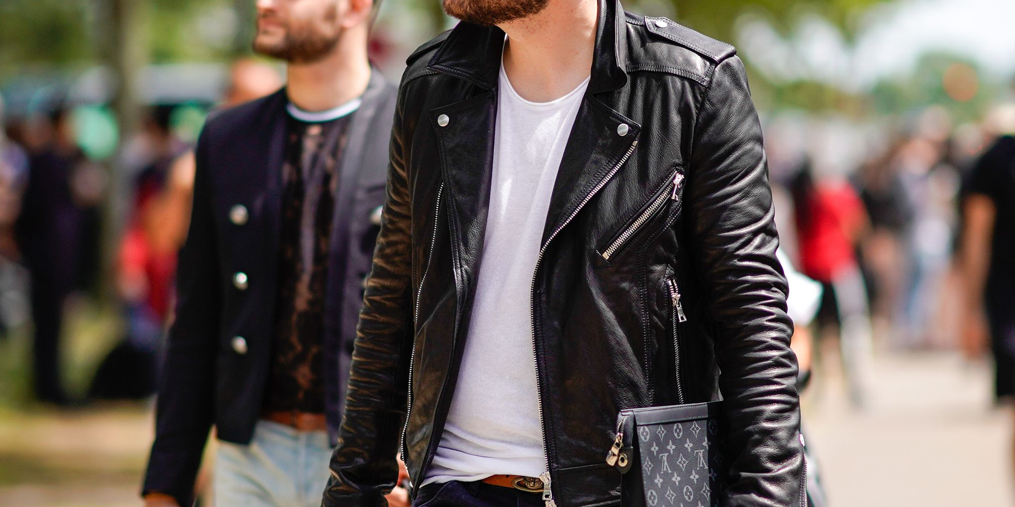 Mens Hairstyles 2019 Uk: 10 Best Leather Jackets For Men 2018