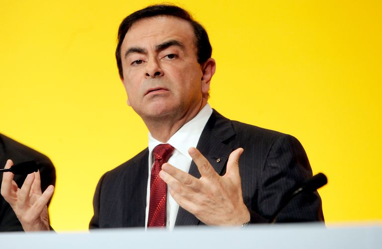 Ghosn at a shareholder meeting in April 2010 in Paris, France.