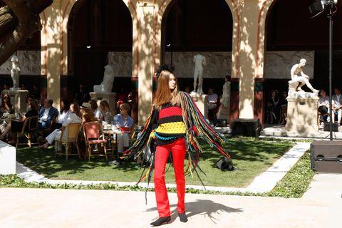La prima volta di Sonia Rykiel alla Haute Couture
