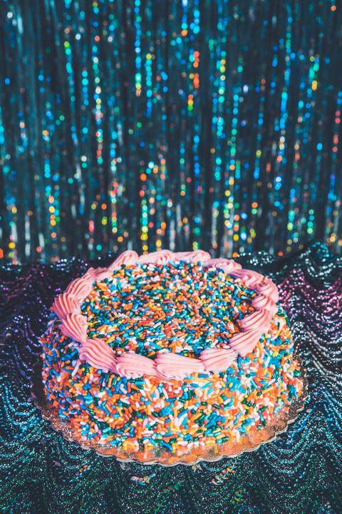 Sprinkles, Orange, Beschuit met muisjes, Nonpareils, Circle, Muisjes, Baked goods,