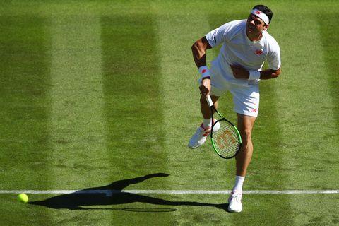 Sports, Tennis, Tennis racket, Tennis player, Sports equipment, Racket, Tennis court, Sport venue, Tennis racket accessory, Tennis Equipment,