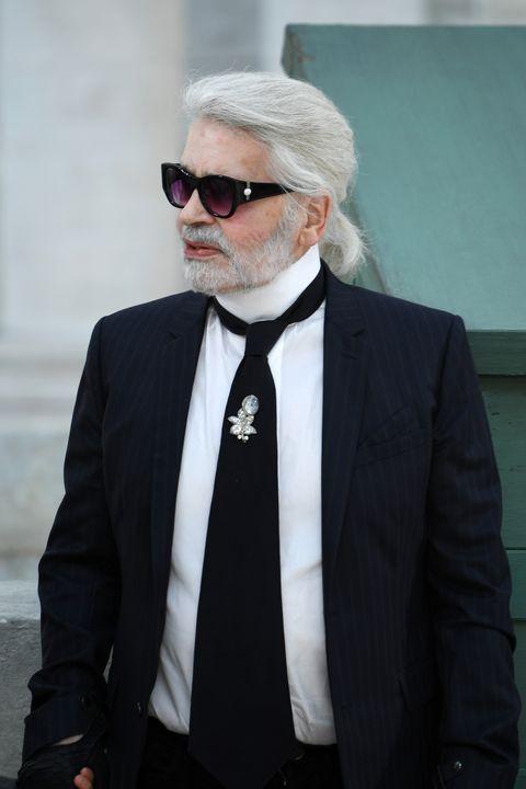 Suit, White, Eyewear, Formal wear, Tuxedo, Facial hair, Beard, Fashion, Glasses, Moustache,