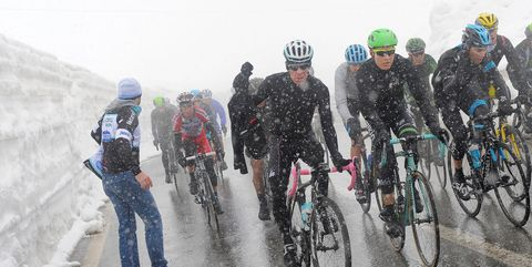 Cycling: 97Th Tour Of Italy 2014 / Stage 16