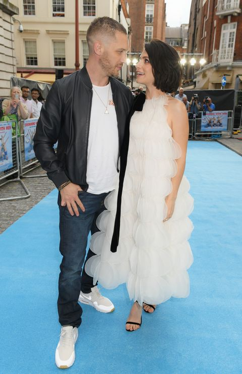 Tom Hardy and his wife Charlotte Riley have had a baby boy