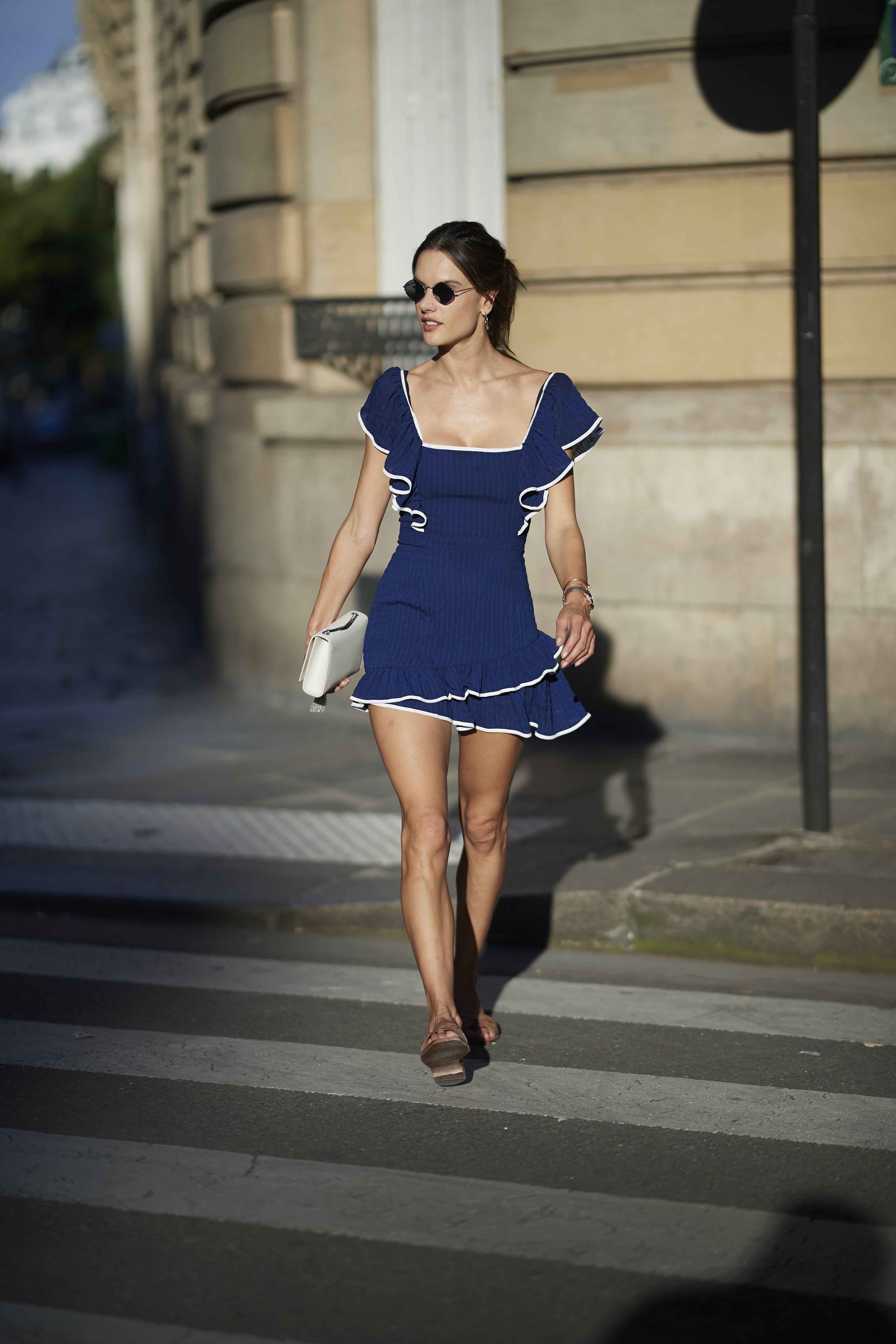 Victoria's Secret Models' Off-Duty Style