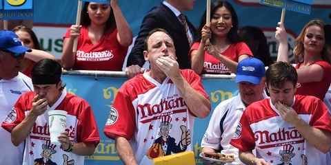 Joey Chestnut Just Broke The World Record And Won His 11th
