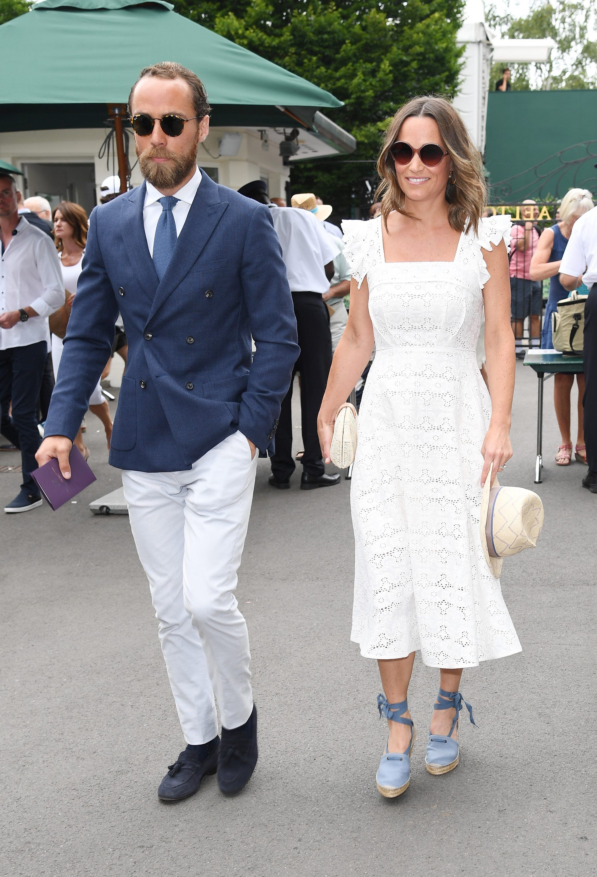 In Middleton Hits Pippa Espadrilles Wimbledon Chilvers Wedge Penelope f7v6yYIgb