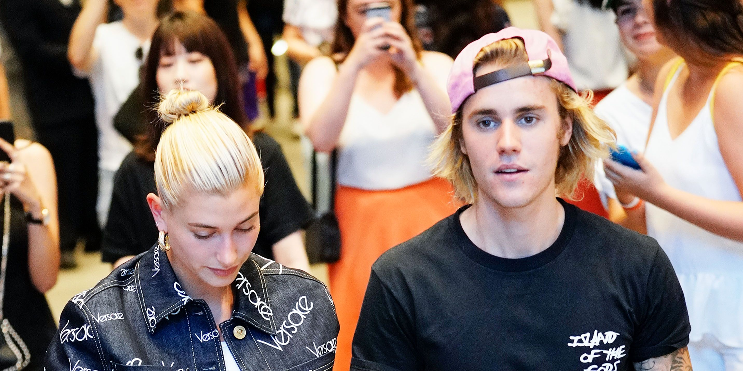 Justin Bieber Wrote the Sweetest Thing on Hailey Baldwin's Instagram