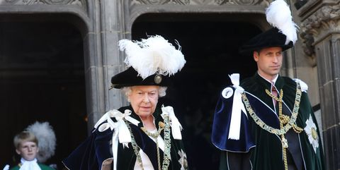 Prince William Queen Elizabeth Order of the Thistle 2018