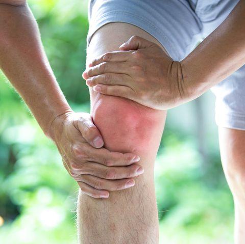 Knee pain Voltarol gel