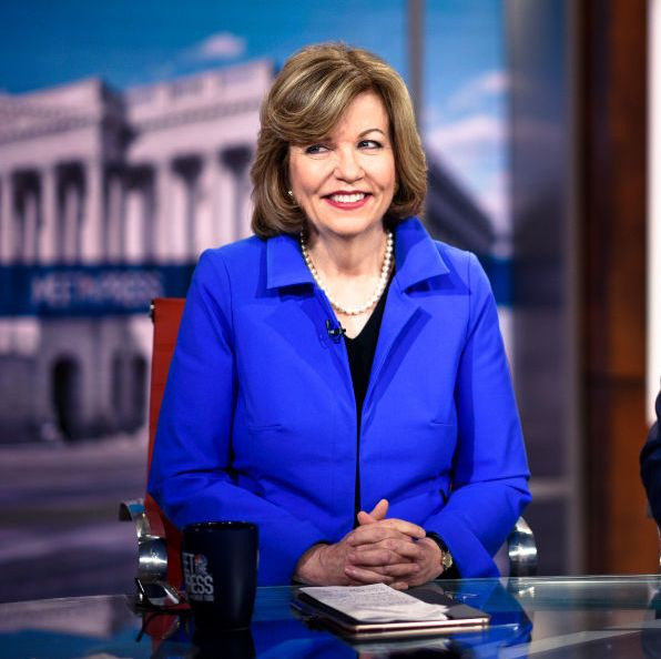 meet the press    pictured l r  susan page, washington bureau chief, usa today, and eugene robinson, columnist, the washington post, appear on meet the press in washington, dc, sunday, july 8, 2018 photo by william b plowmannbcnbc newswirenbcuniversal via getty images