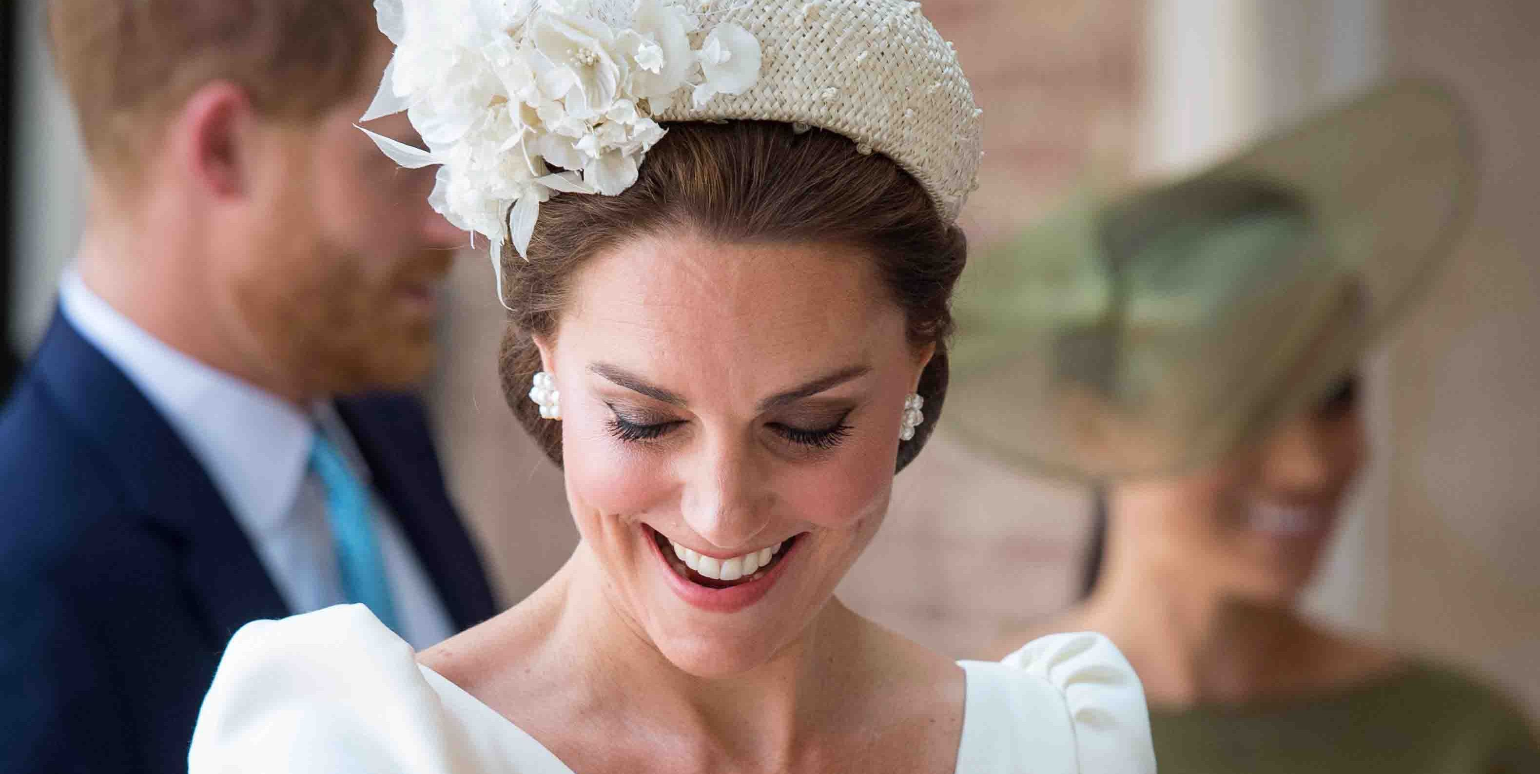 Prince Louis Is Awake and Grinning in Extra, Super Candid Christening Photo