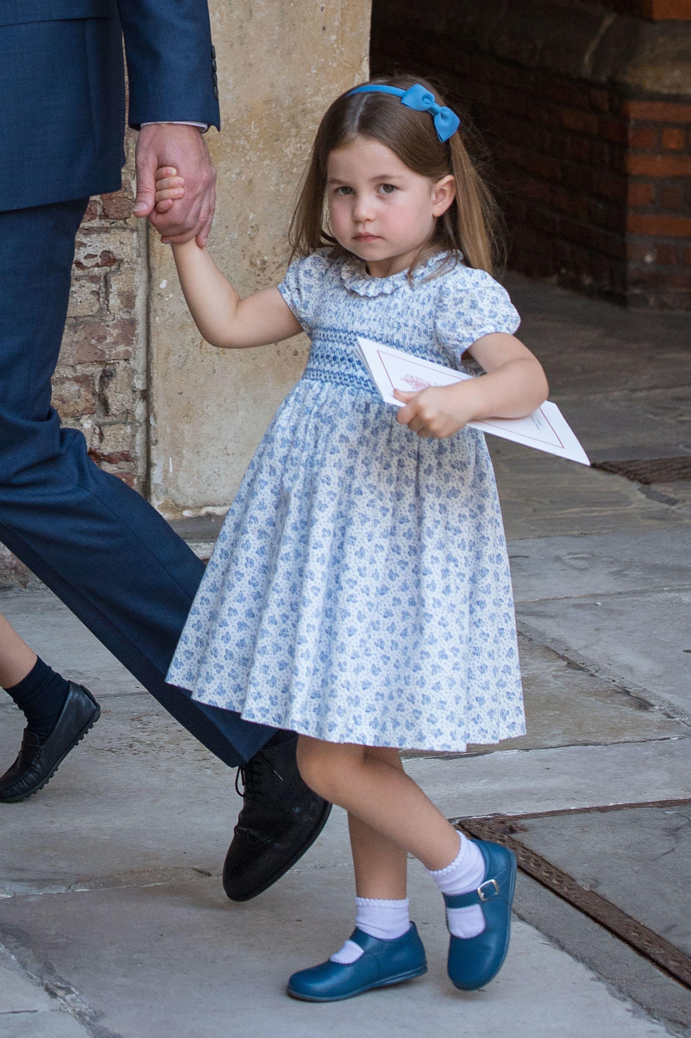 英國皇室,夏綠蒂公主,夏綠蒂小公主,喬治王子,喬治小王子