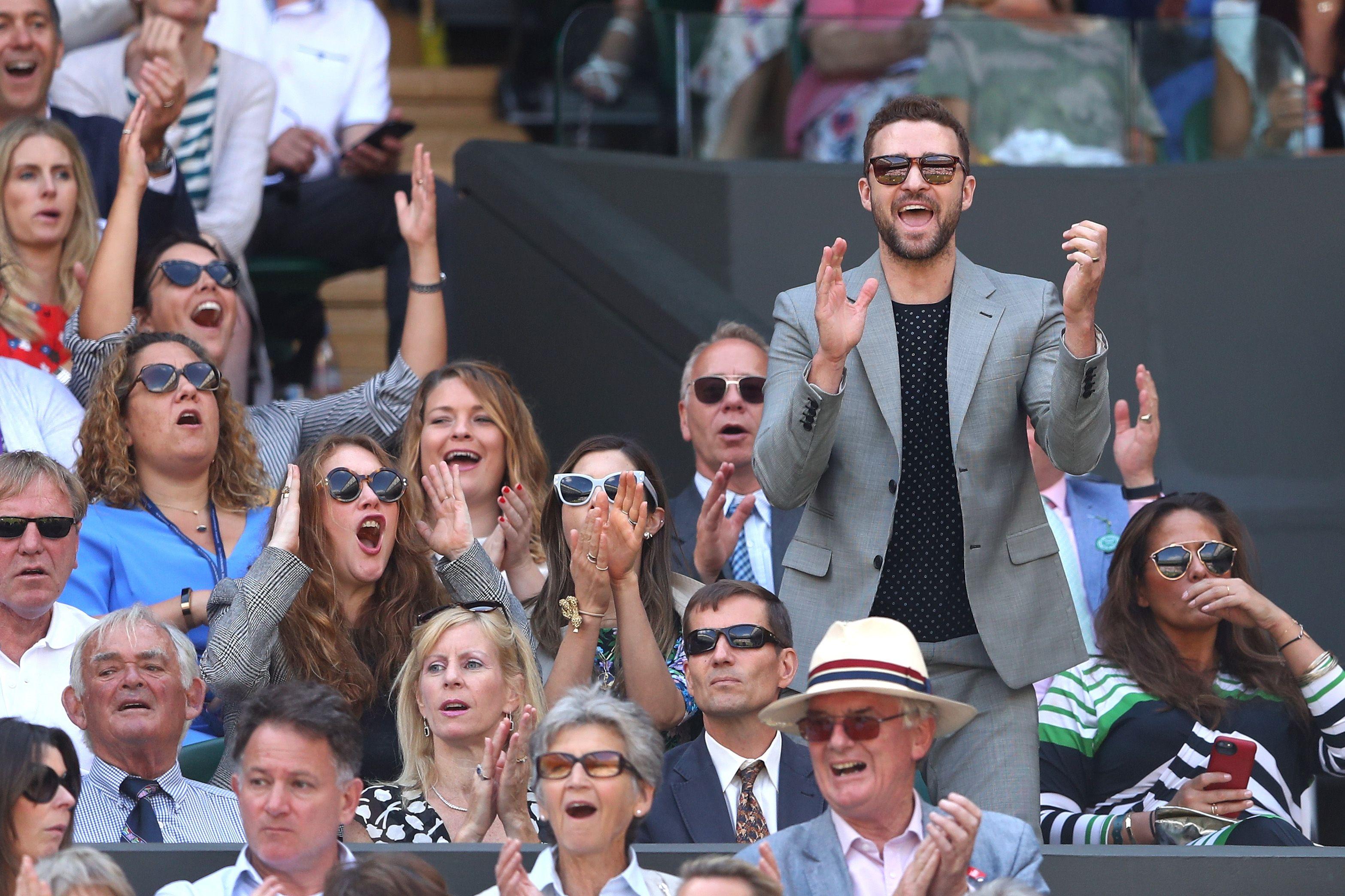 e0df03ade4 11 Top Celebrities Spotted at Wimbledon 2018 - Wimbledon 2018 Celeb Photos