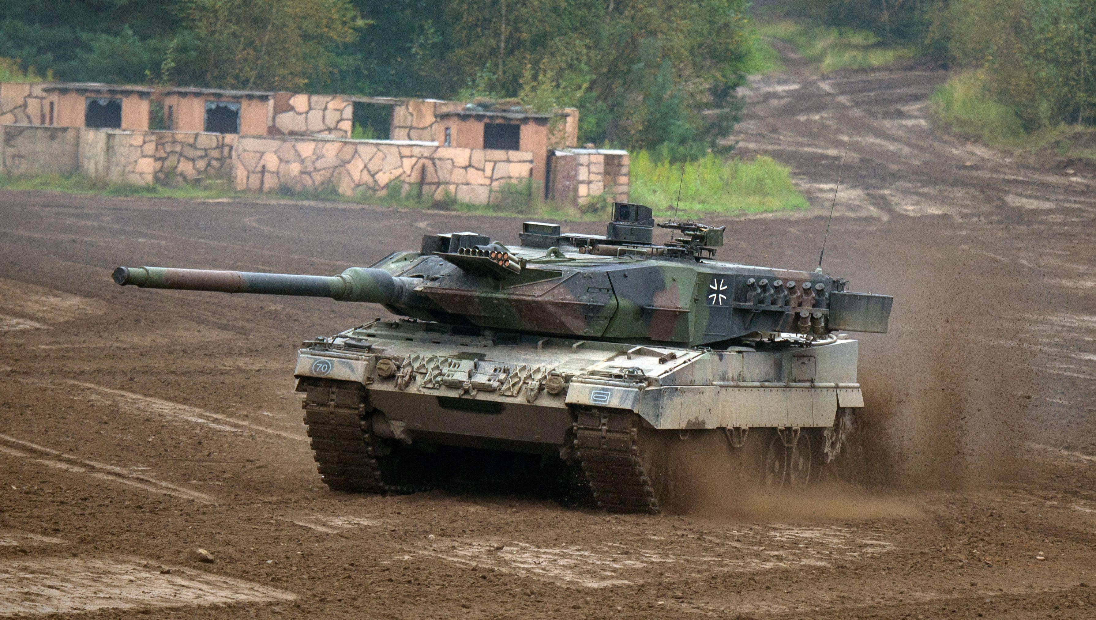 Ejercicio militar de la Bundeswehr alemana