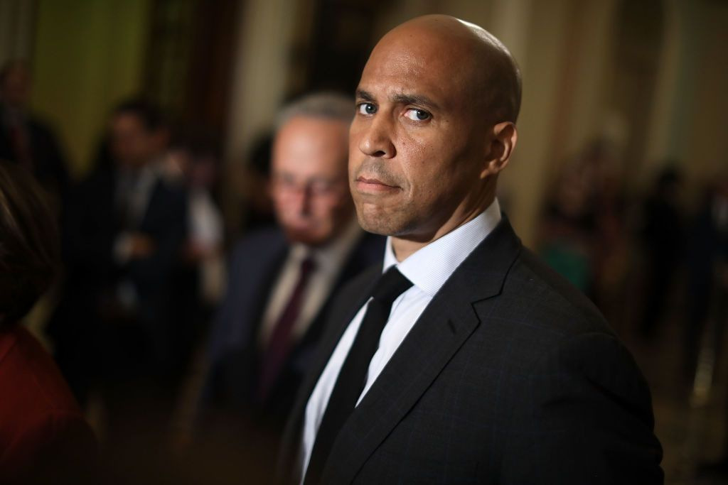 Cory Booker Just Hinted He Might Propose to Rosario Dawson