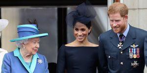 Queen - BroochMeghan Markle Prince Harry