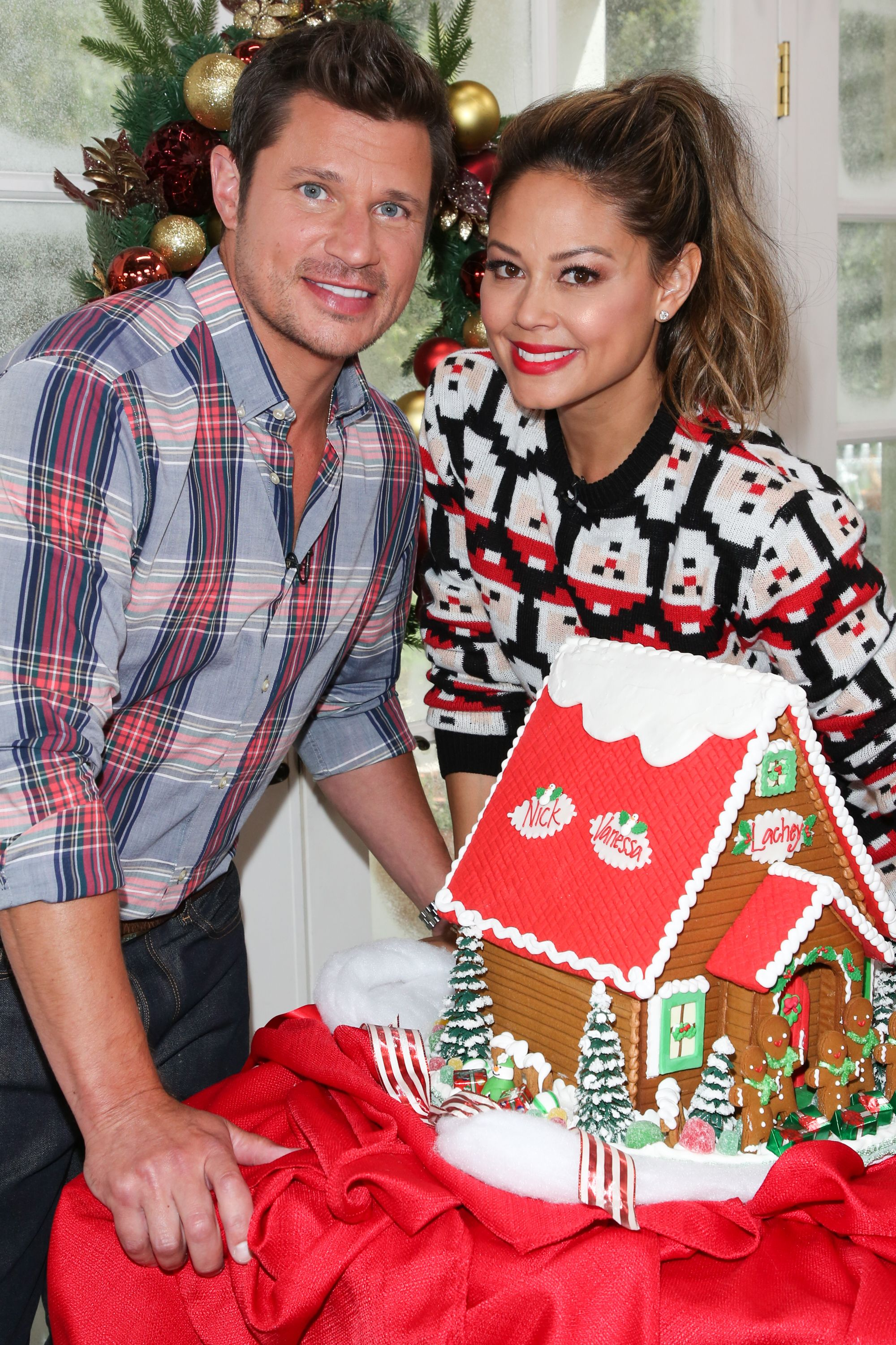 Nick and Vanessa Lachey met when he was filming a video for his breakup song.