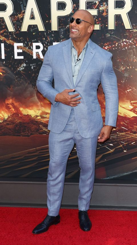 c204c4ceb742eb Dwayne Johnson Has The Summer Suit For Stacked Guys