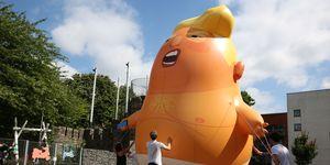 Donald Trump baby blimp