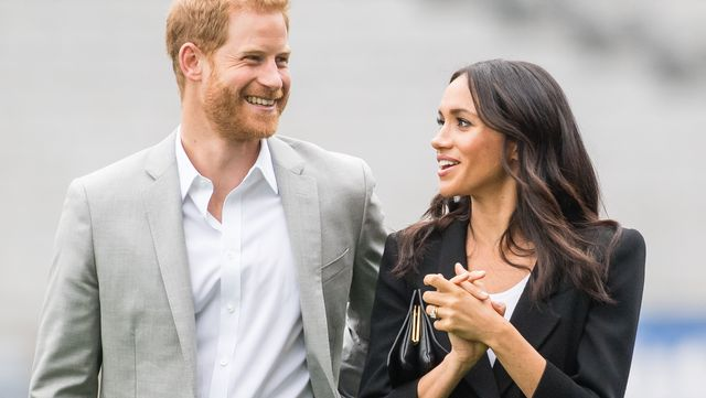 dublin, ireland   july 11  prince harry, duke of sussex and meghan, duchess of sussex visit croke park, home of irelands largest sporting organisation, the gaelic athletic association on july 11, 2018 in dublin, ireland  photo by samir husseinsamir husseinwireimage