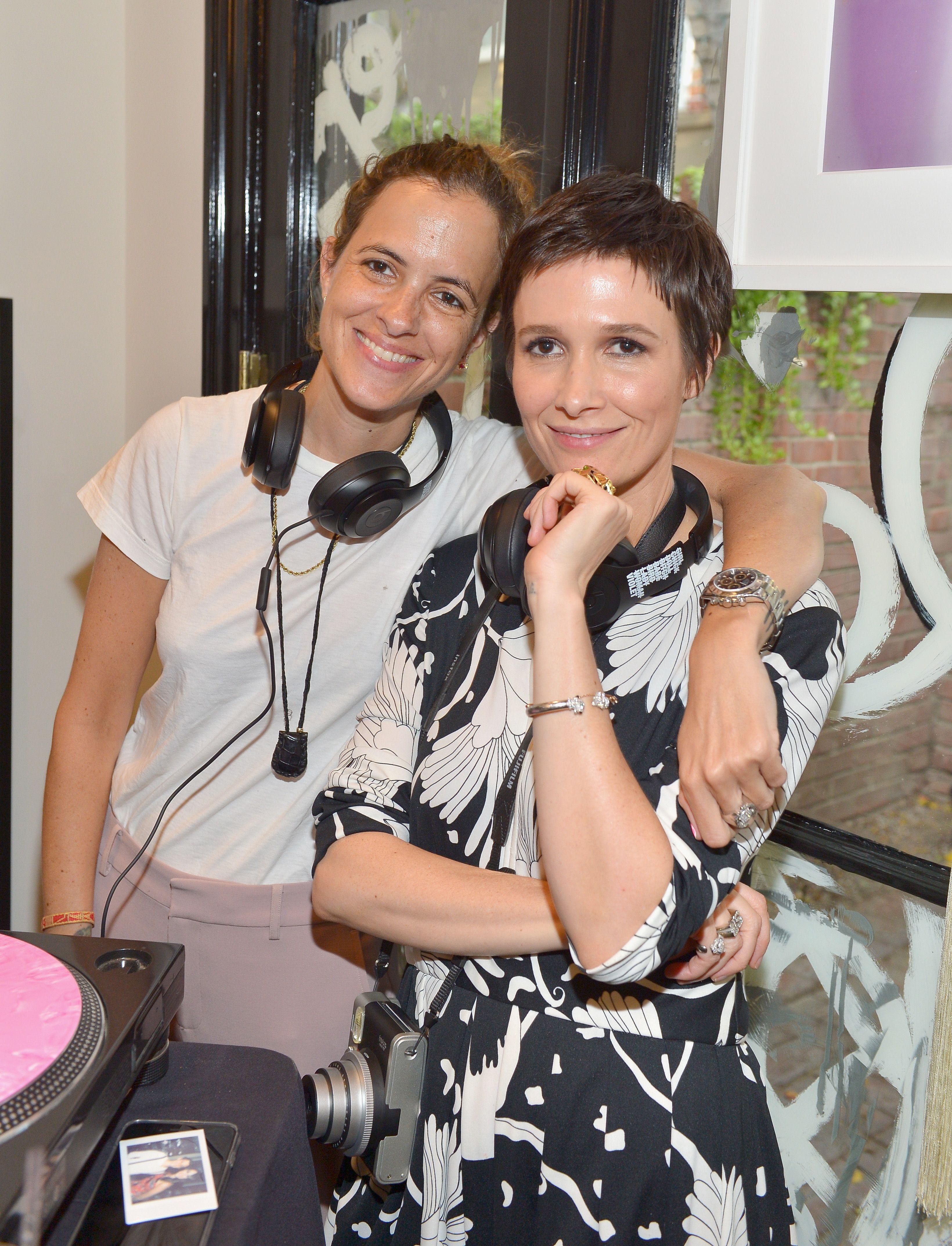 The DJ Samantha Ronson with her new girlfriend Cassandra Grey.