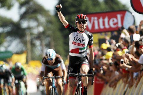 Dan Martin Tour de France 2018 Zipperless Jersey