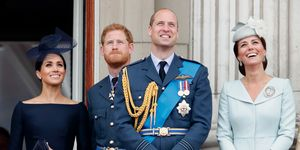 Royal Family AtThe Centenary Of The RAF