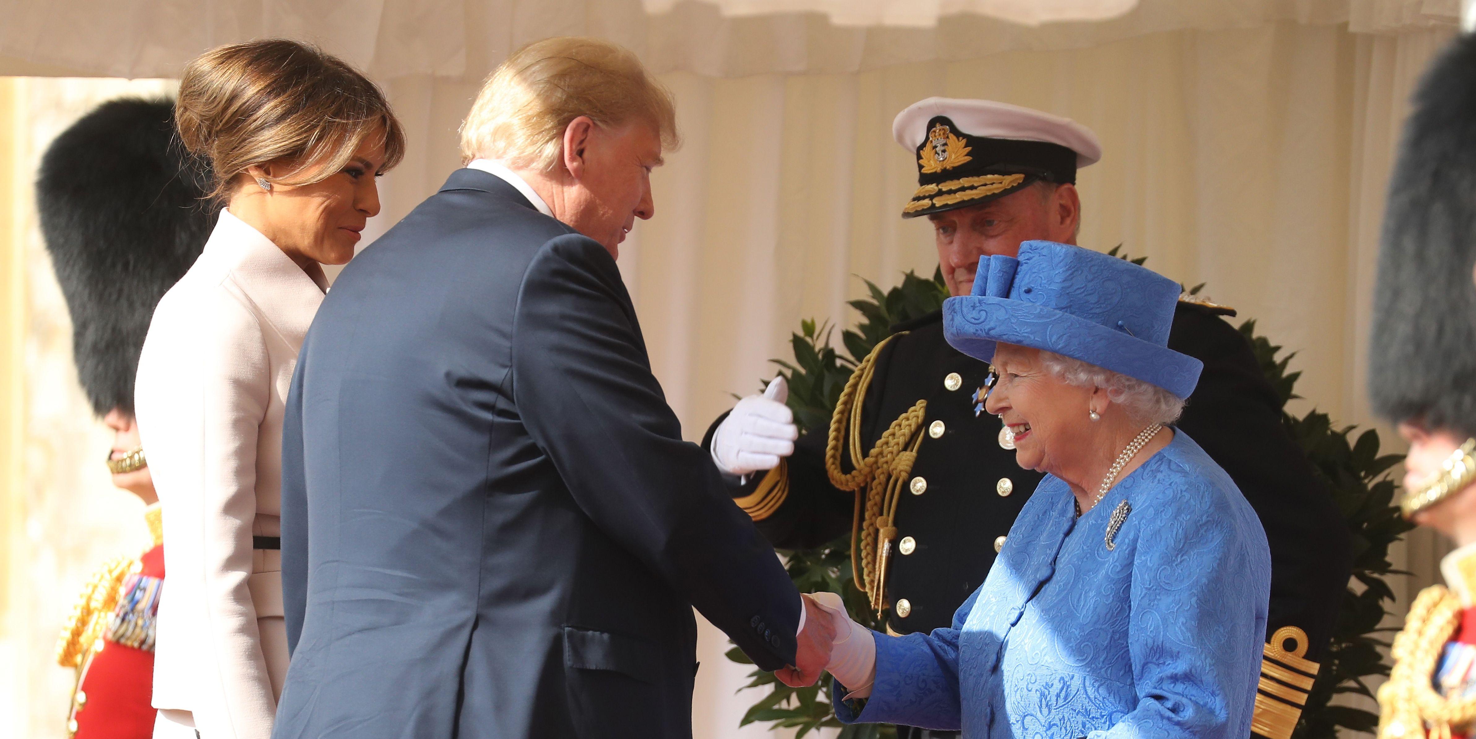 Donald Trump Meeting with Queen Elizabeth