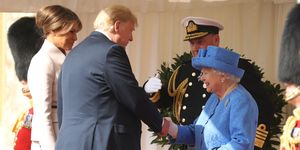 Donald Trump Meeting with Queen Elizabeth