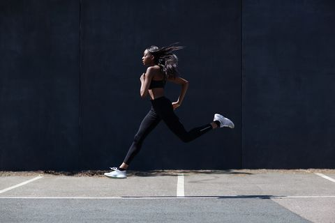 Running is a natural remedy for period pain