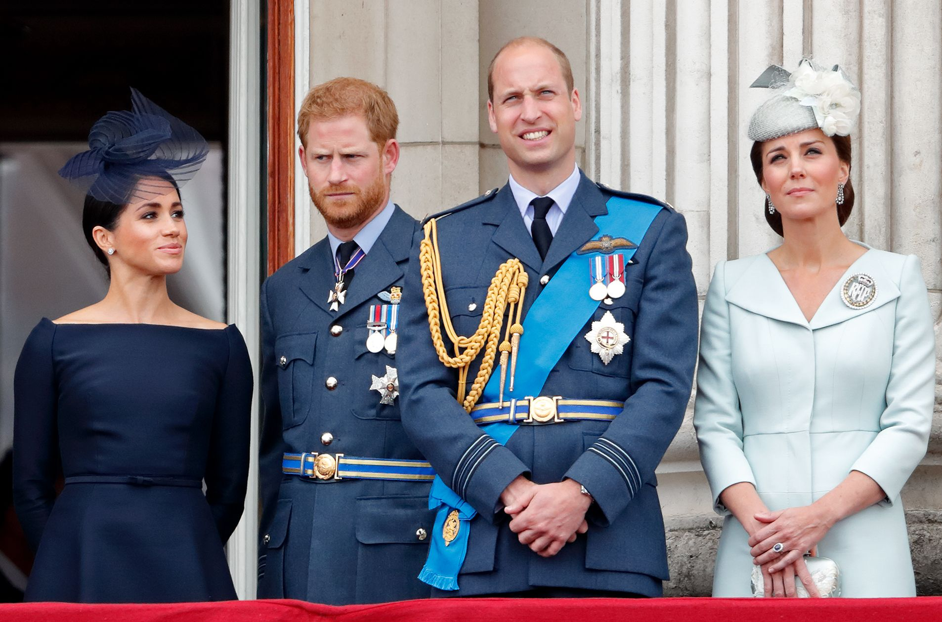 Image result for harry and meghan and william and kate