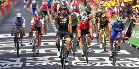 Dylan Groenewegen Wins Stage 8 of the Tour de France 2018