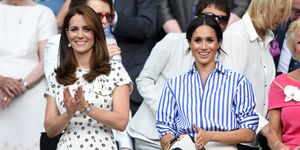 Meghan Markle and Kate Middleton Attend Wimbledon