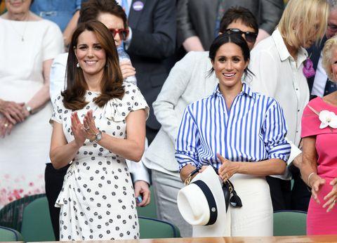 Meghan Markle, Ralph Lauren, 凱特王妃, 品牌, 哈利王子, 帽子, 梅根馬克爾, 溫布頓穿搭, 溫布頓網球賽, 溫網, 穿搭, 英國皇室