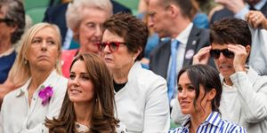 Kate Middleton and Meghan Markle's sister-sister date at Wimbledon looked like the best fun