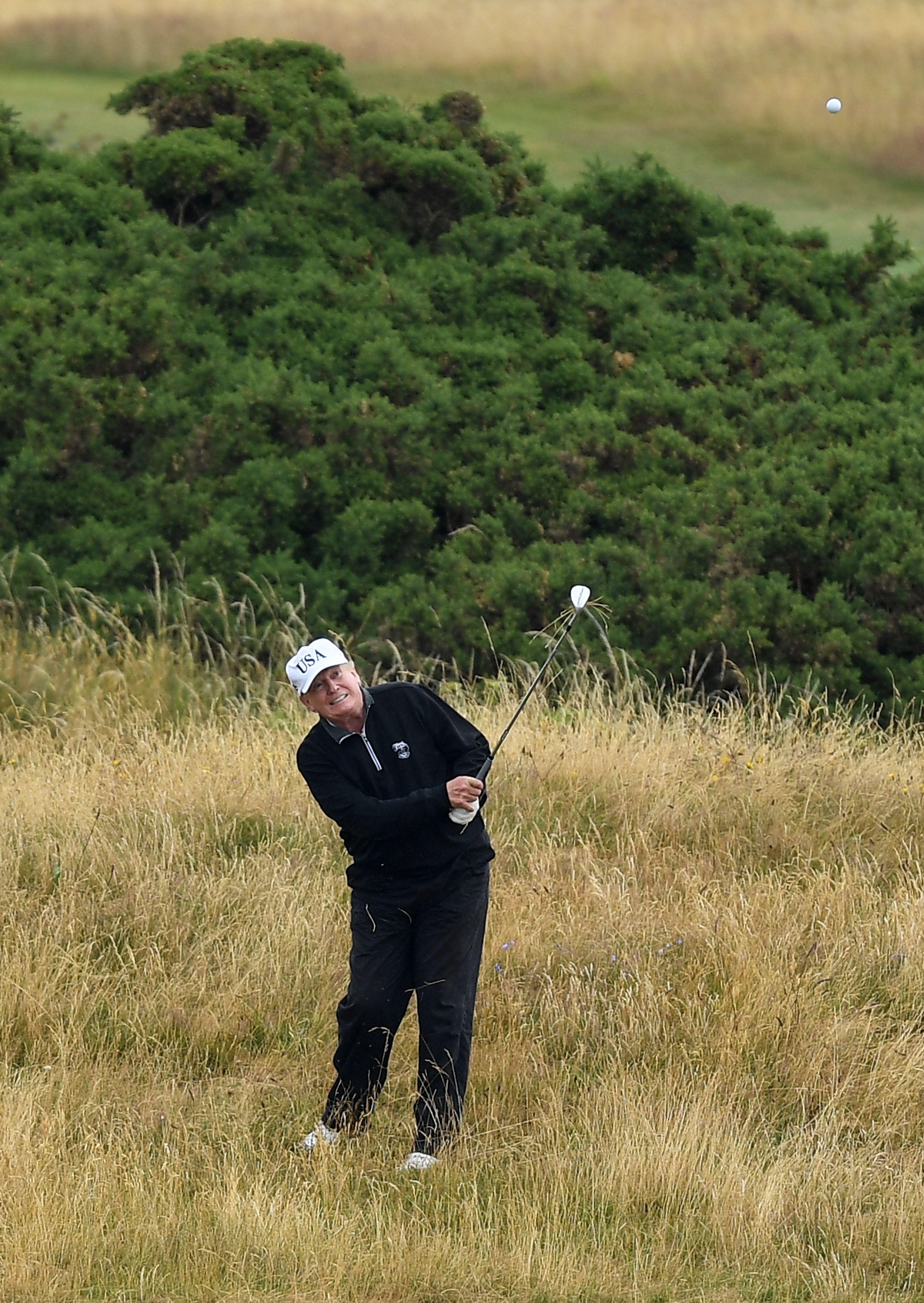"Donald Trump's ""Inexpensive"" Golf Habit Could Cost America $340 Million"