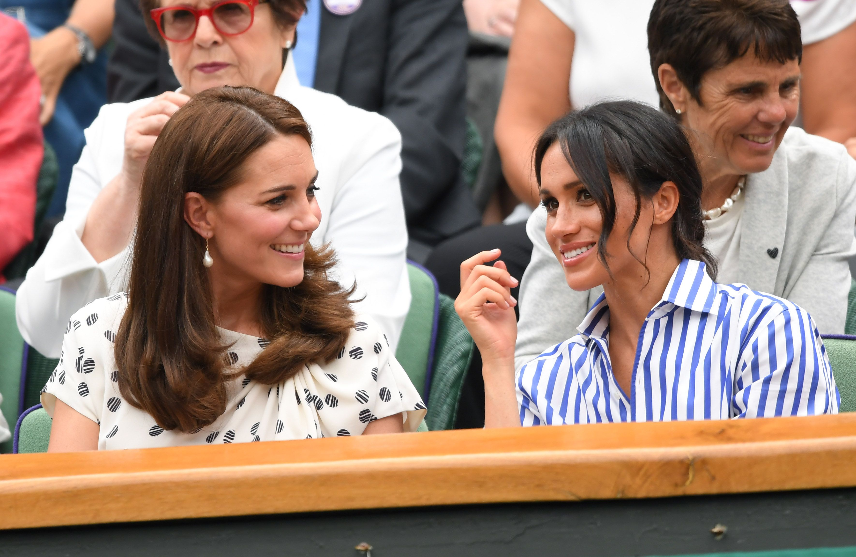 The Genius Way Meghan Markle and Kate Middleton Apparently Keep Their Skirts from Flying Up