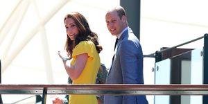 Kate Middleton gele jurk, wimbledon